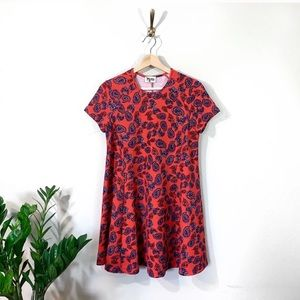 Show Me Your Mumu Red Paisley Babydoll Dress